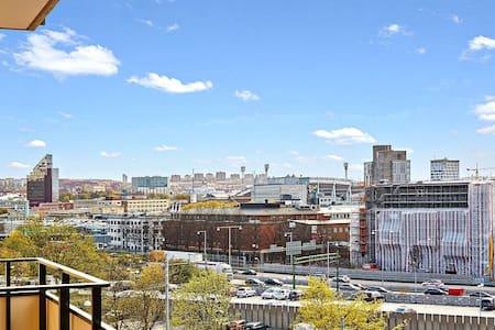 Fin lägenhet, utsikt över Ullevi - ヨーテボリ - アパート
