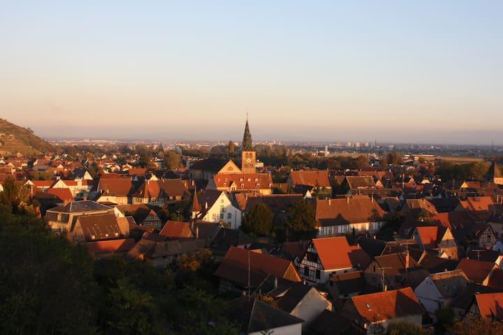 Au coeur du vignoble Alsacien - Turckheim