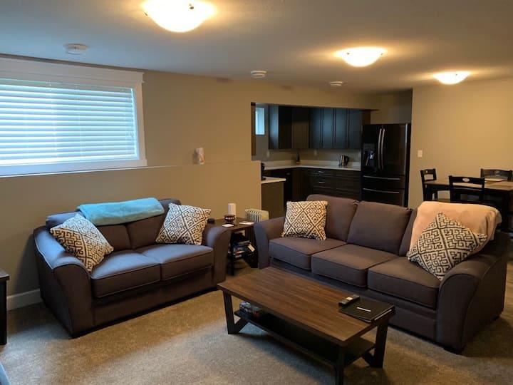 New Private Suite, close to UNBC & CN Centre