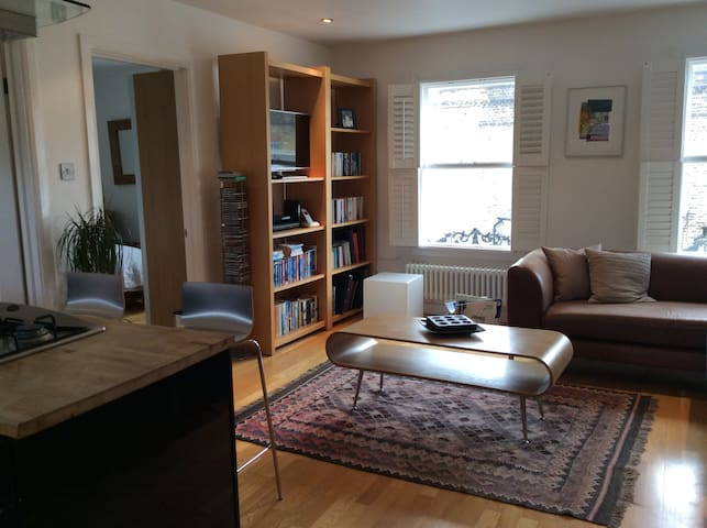 Greenwich 2 bed contemporary flat