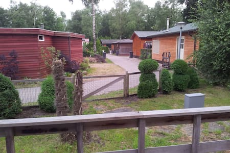 Chalet with 2 rooms, living, sleep - Enschede - Chalet