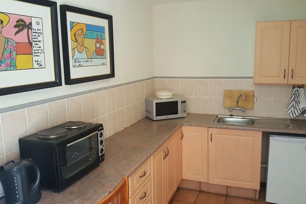 Kitchen ideal for self catering.