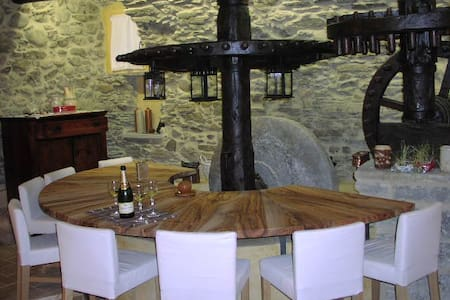 frantoio del 1700 ristrutturato - Olivetta San Michele - Muu