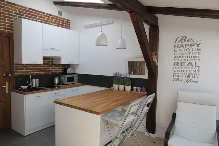 Studio in Krakow - Krakau - Wohnung