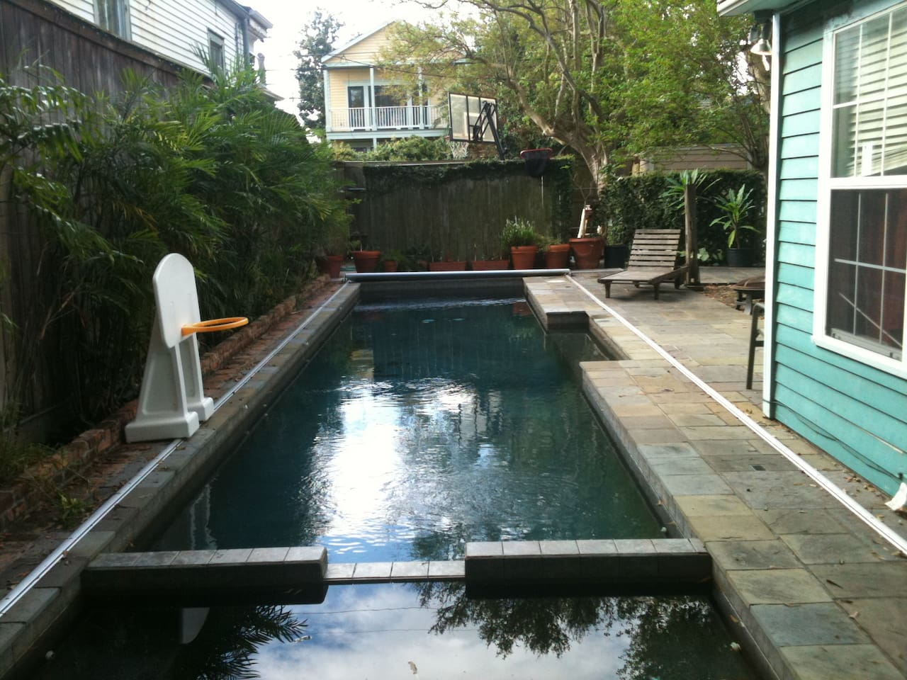 private wing of house with pool houses for rent in new orleans