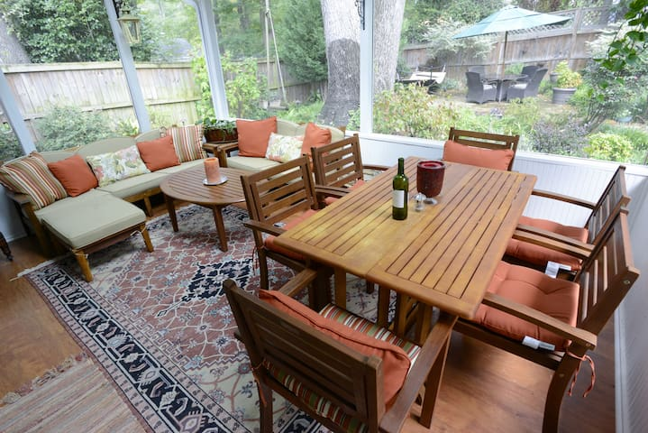 Quiet Garden Bungalow - Atlanta - Villa
