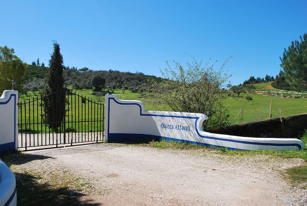 Gate from Quinta Alfaval