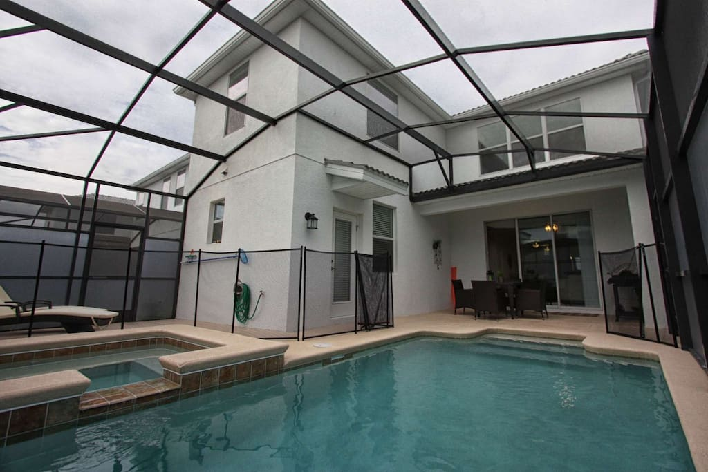 Enjoy Your Own Private Pool & Spa!