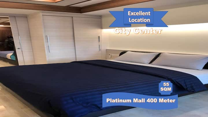Family Room Condo5 NR Shopping@Platinum + FreeWifi