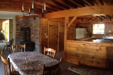 Log Cabin on Lake Winnipesaukee - Meredith
