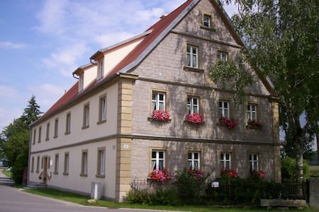 Landurlaub im Bauernhaus 3-6 Pers. - Ulsenheim - Wohnung