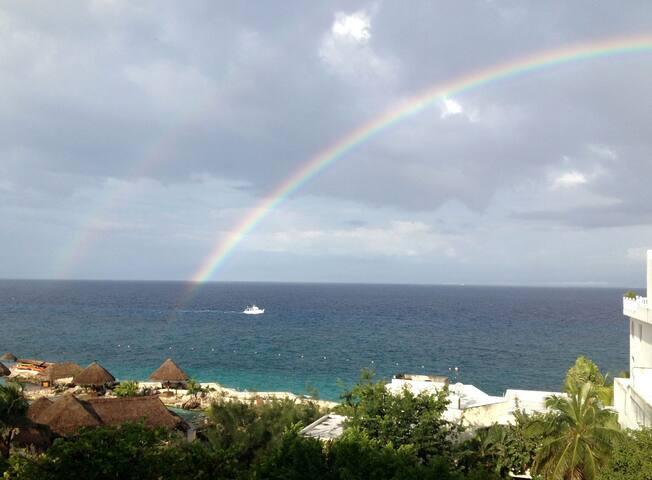 Luxury Condo in Town! Beautiful Ocean Views! - San Miguel de Cozumel - Condominio