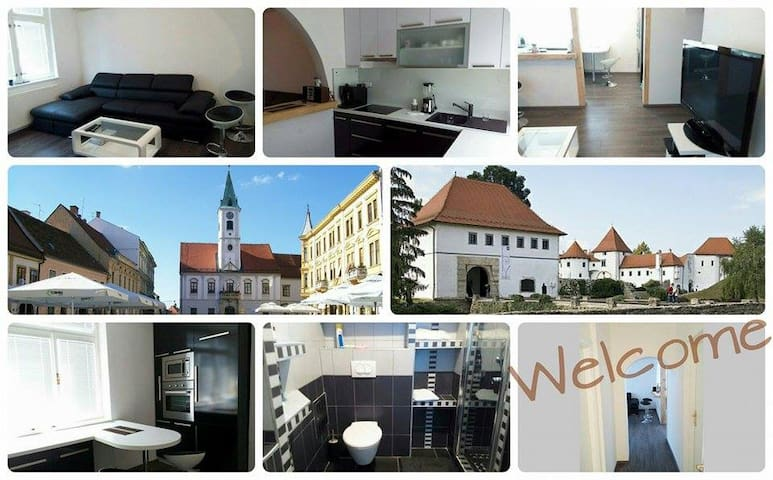Modern apartment in the town center - Varaždin - Apartamento