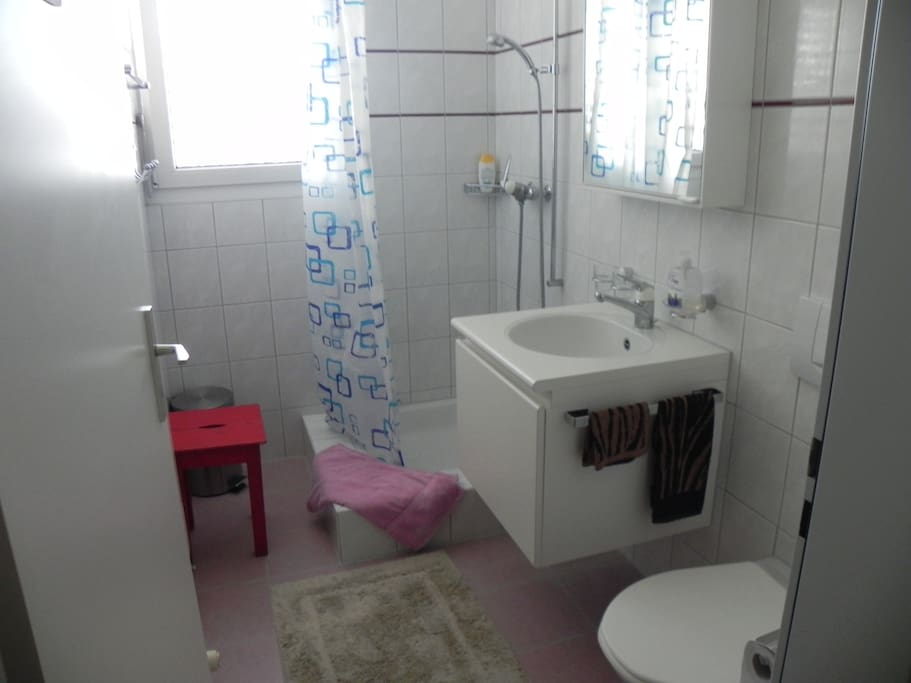 own WC/Shower