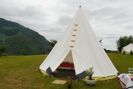 Nouveau tipi - Arthez-d'Asson - 圓錐形帳篷