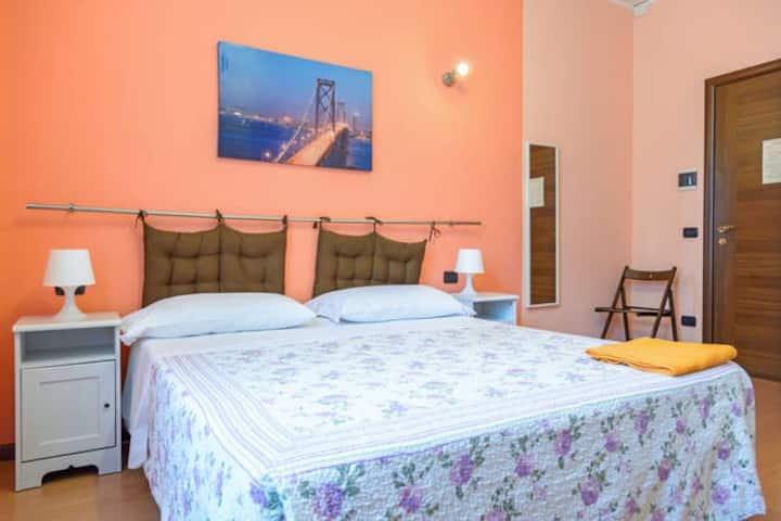 Bed&Parma: Camera Arancione