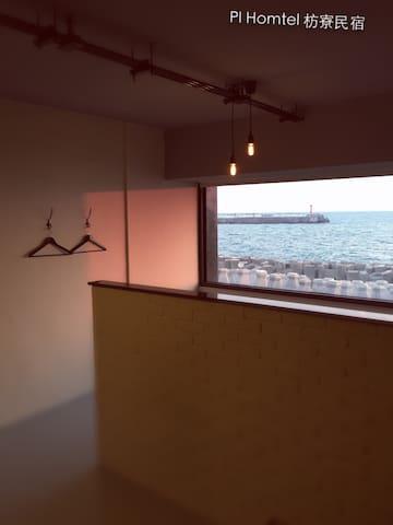 Pi Homtel - sea view (Studio #3) - 屏東縣 - Pis