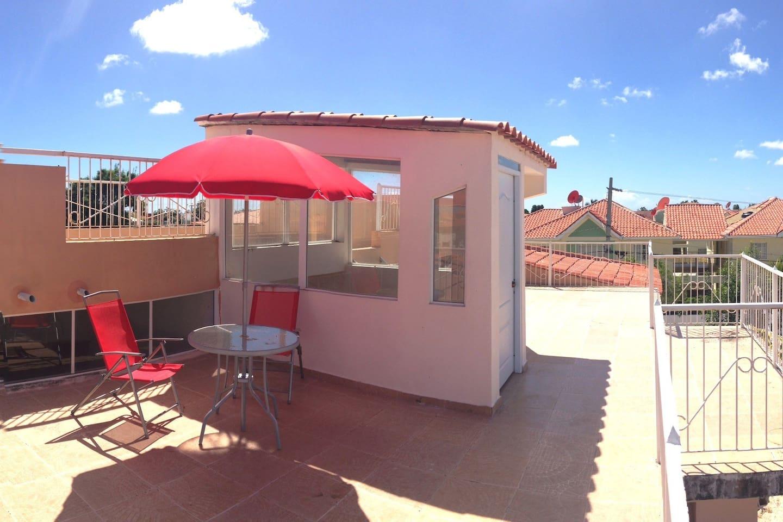 Rooftop Terrace!