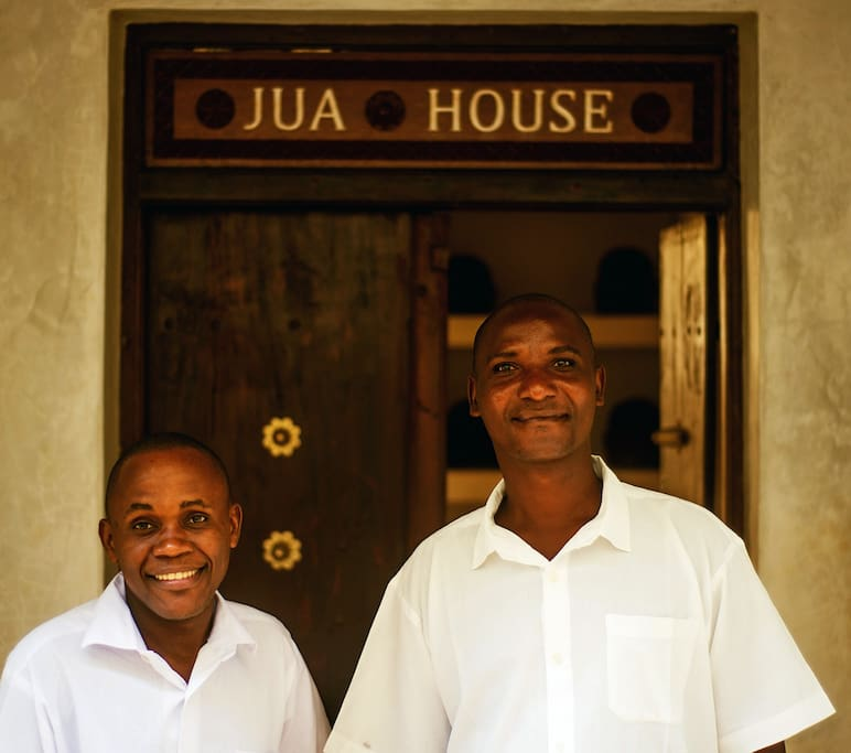 Amani and John - our Staff