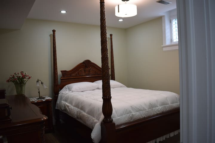 Cozy newly renovated private basement apartment