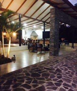 Casita familiar en la selva mágica - Tarapoto