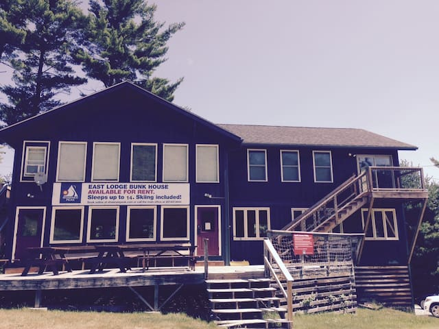The Lodge - Great for Groups with Suite & BunkRoom - Bridgton - Loft