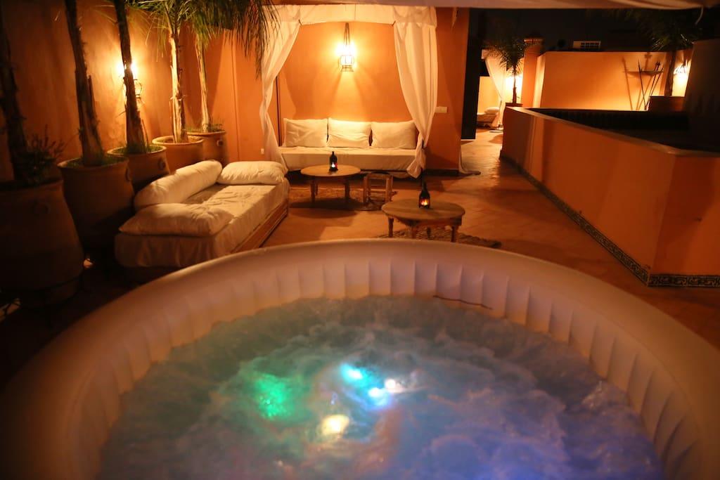 Riad palau riad centre medina chambres d 39 h tes louer for Chambre d hote centre
