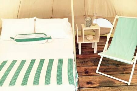 Acampa en la Playa con todo Glamour Tienda 2 - Santa María Tonameca - Tepee