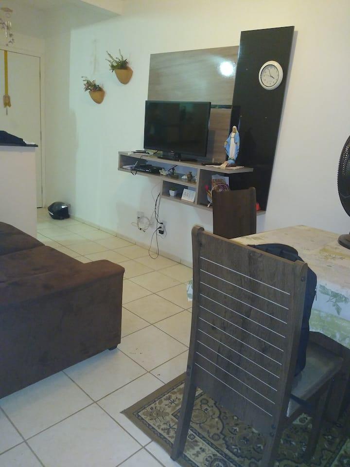 Aluguel quarto mobiliado individual diariamente