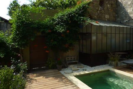 Chambre avec bassin de détente - Dům