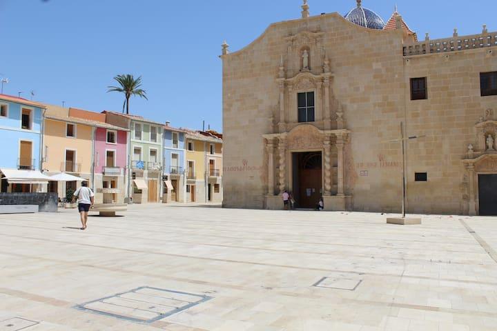 Casa  pueblo restaurada con encanto - Santa Faz. Alicante - Maison