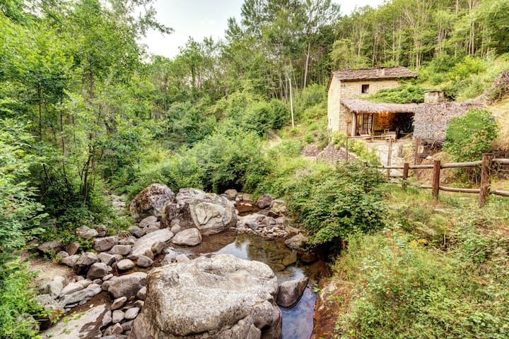 The Ancient water Mill - Ortignano Raggiolo - Earth House