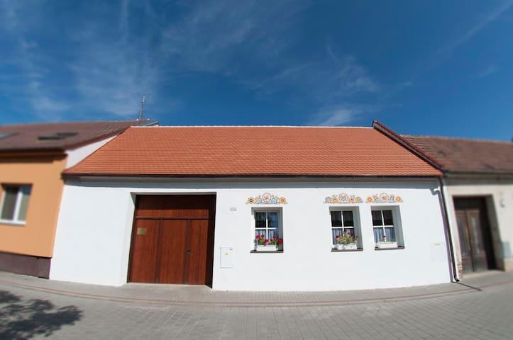 Typical Moravian cottage - Strážnice - Hus