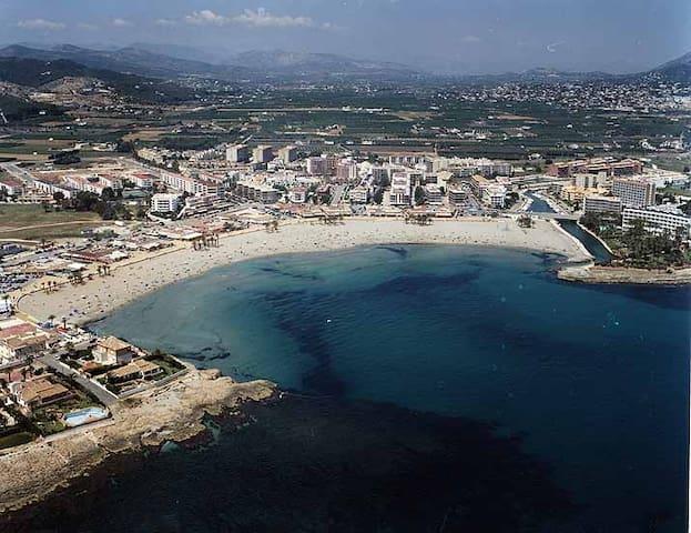 Jávea primera línea playa Arenal - Platja de l'Arenal - Daire