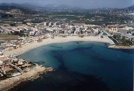 Jávea primera línea playa Arenal - Platja de l'Arenal