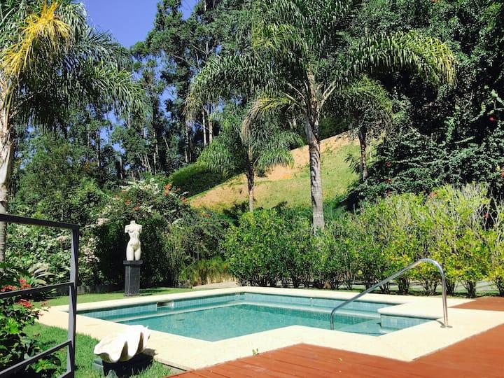 Villa Forte, a casa e vista mais linda de Itaipava