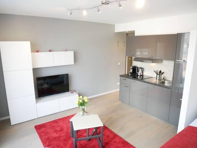 1-Zimmer Wohnung - Mitten im Leben im Frankfurt - Frankfurt am Main - Apartamento