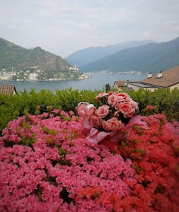3.5 room lake apt lugano/milano - Porto Ceresio - 公寓