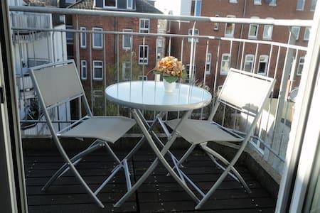Whg. mit Balkon holstentornah (2/3) - Lübeck - Appartement