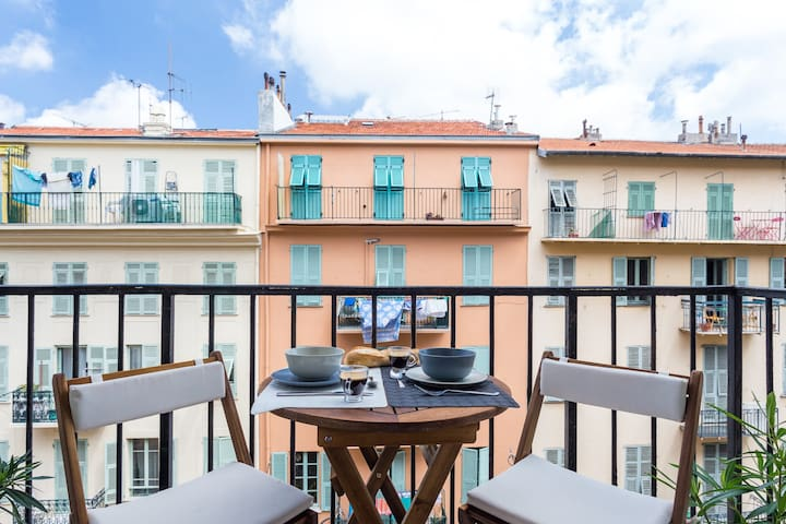 2bedroom Balcon Nice Harbour
