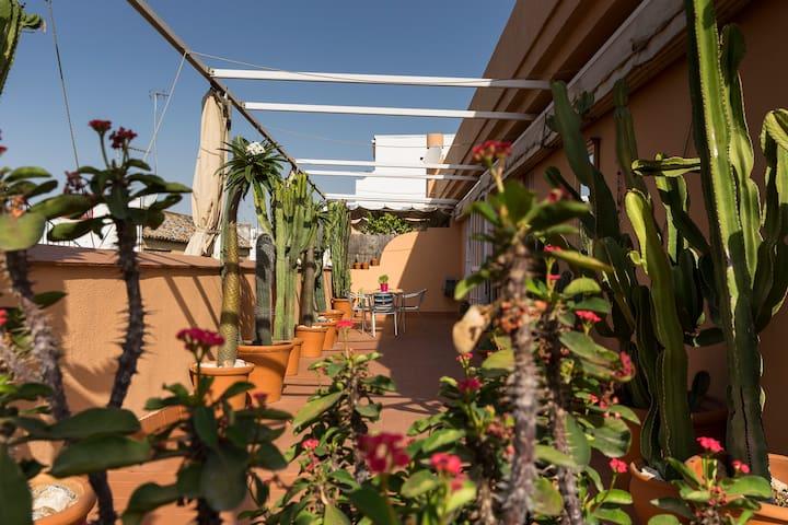 La Maison Cactus. Salle privée