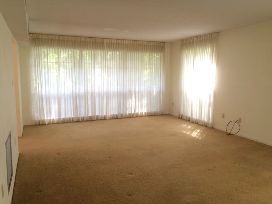 4 bedrooms upstairs, lots of windows and light