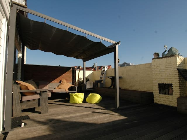 Sleep at the Beach, 80m2, 2bdr + private terrace - Zandvoort - Wohnung