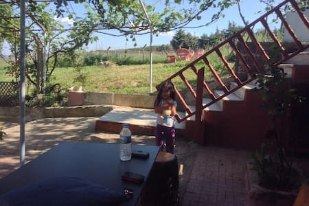 Ahşap ev - Çanakça Köyü