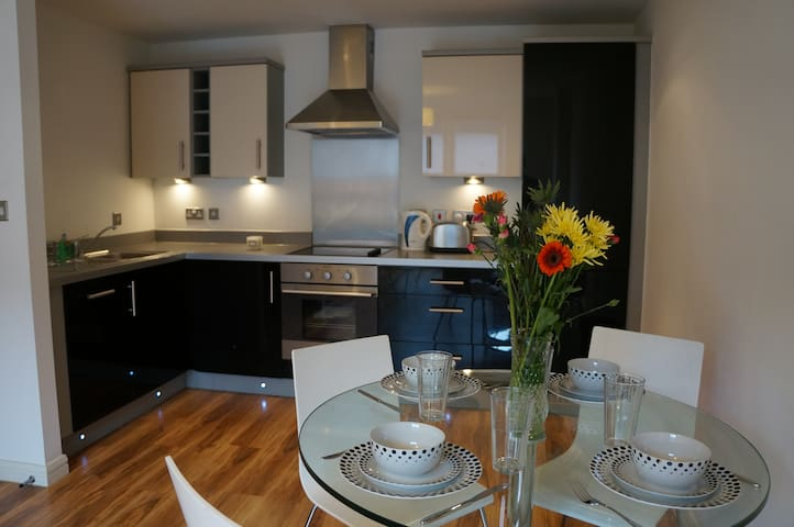 2-bed flat at the heart of Birmingham City Center