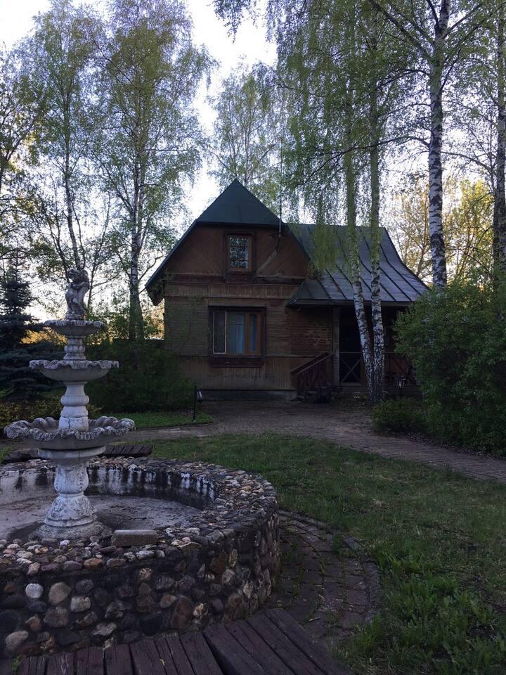 Уютный дом с прекрасным видом