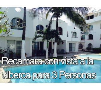 Recamara con vista a la alberca II - Boca del Río - Ev