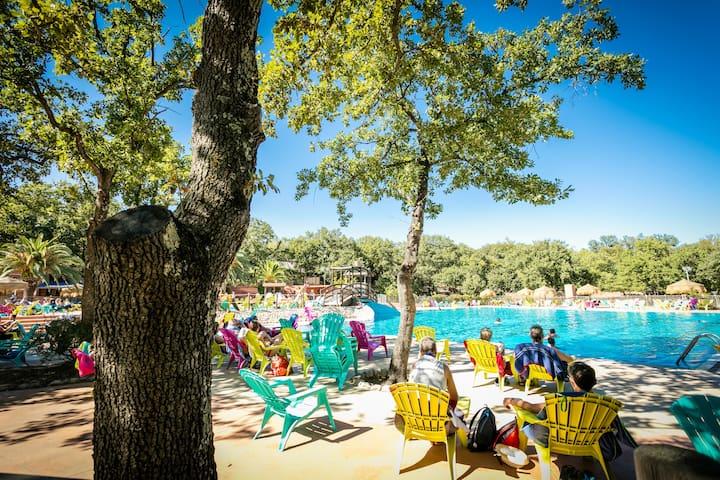 CHALET 5 pers à Argelès/Mer avec piscine chauffée - Argelès-sur-Mer - Chalet