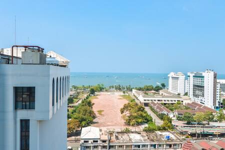 中心海centric sea pattaya 市中心一室公寓海景房 交通便利 近海滩商场秀场