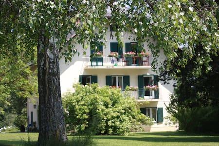 Wohnen am Pichlerhof mit Blick auf den See - Apartment